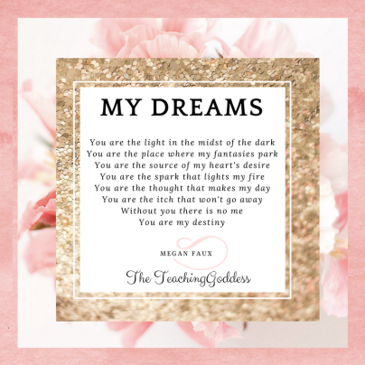 My Dreams poem